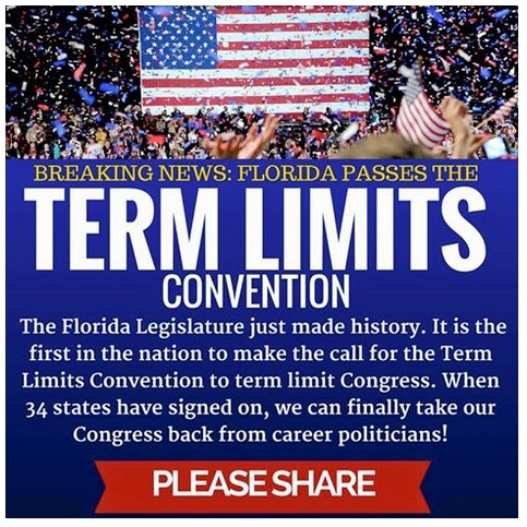 Florida Backs Article V Convention for Constitutional Amendment on Congressional Term Limits