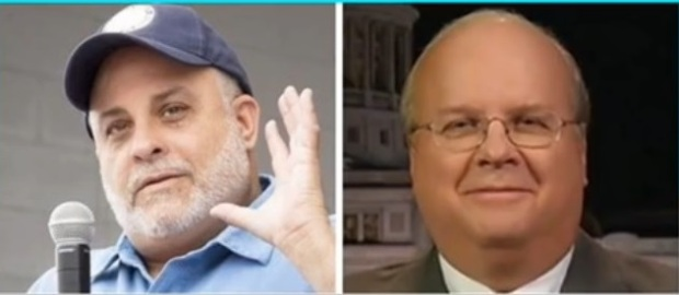From THREE YEARS AGO today- Mark Levin eviscerates KarlRove!