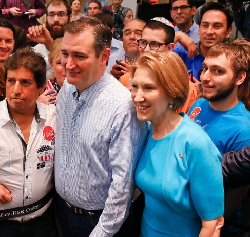 Carly Fiorina endorses Texas Sen. Ted Cruz