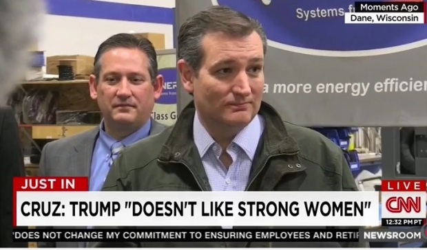 """Ted Cruz Schools Trump. """"Donald Will NOT be the Nominee! He isscared!"""""""