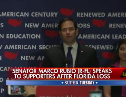 Marco Rubio's Concession Speech From Last Week