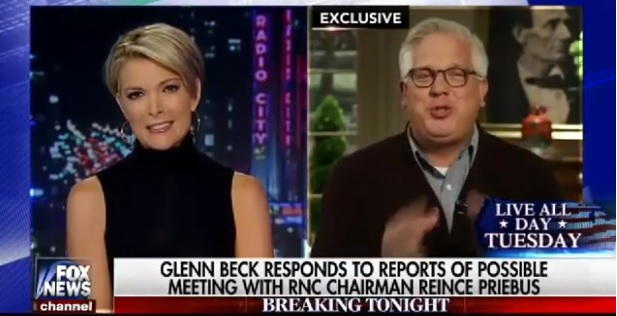 Megyn Kelly Interviews Glenn Beck about The 2016 Race and His Suspension From Sirius