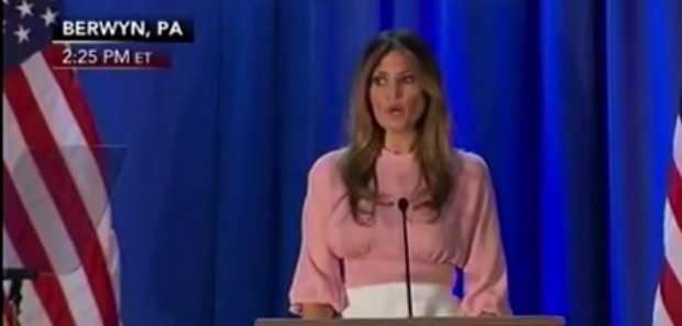 Melania Trump's Speech in PA