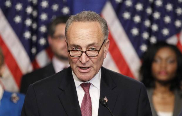 Trump finds an unlikely partner: Chuck Schumer