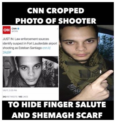 CNN Trying to Hide The Truth About The Florida Airport Shooter?