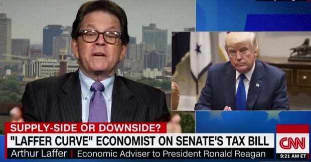 Arthur Laffer defends GOP tax bill.