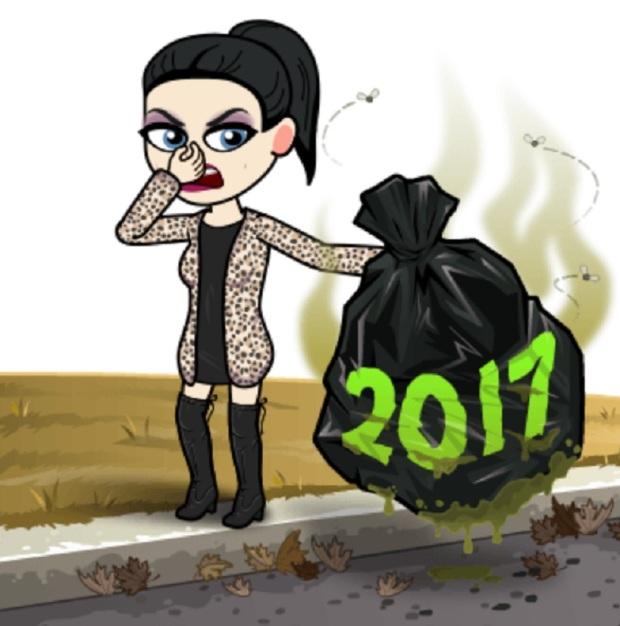 2017 STUNK!