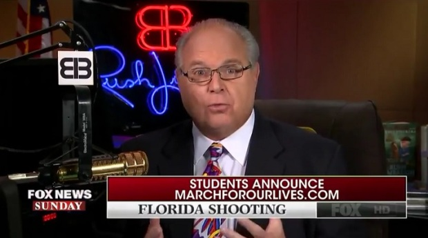 Rush Limbaugh: We Need Concealed-Carry in Schools